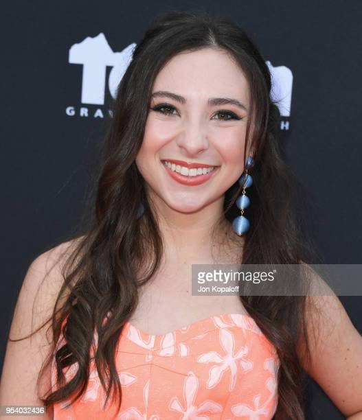 Ava Cantrell attends Teton Gravity Research's Andy Iron's Kissed By God World Premiere at Regency Village Theatre on May 2 2018 in Westwood California