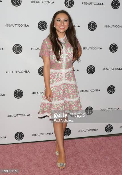 Ava Cantrell attends the Beautycon Festival LA 2018 at Los Angeles Convention Center on July 15 2018 in Los Angeles California