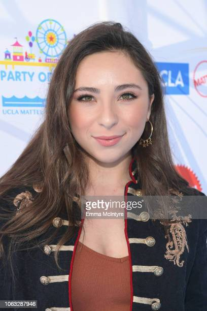 Ava Cantrell attends the UCLA Mattel Children's Hospital's 19th Annual Party on the Pier at Santa Monica Pier on November 18 2018 in Santa Monica...