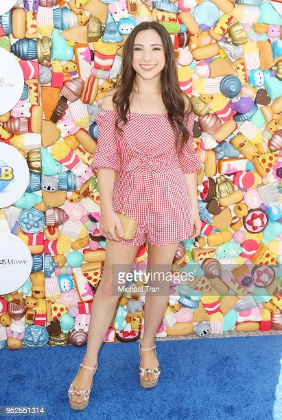 Ava Cantrell attends the Zimmer Children's Museum's 3rd Annual We All Play Fundraiser held on April 28 2018 in Santa Monica California