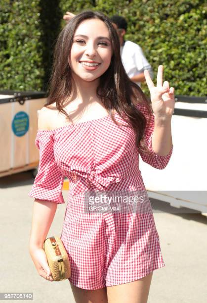 Ava Cantrell is seen on April 28 2018 in Los Angeles CA