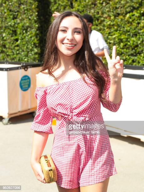 Ava Cantrell is seen on April 28 2018 in Los Angeles California
