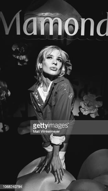 Ava Capra is photographed at the Launch Event for Beautycon POP captured on the LG V40 ThinQ on November 15 2018 in Los Angeles California