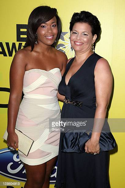Ava Coleman and Debra L Lee attend BET networks chairman Debra L Lee hosts 5th annual preBET awards celebration dinner at Book Bindery on June 25...