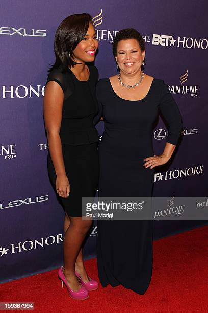 Ava Coleman and Debra Lee attend BET Honors 2013 Red Carpet Presented By Pantene at Warner Theatre on January 12 2013 in Washington DC