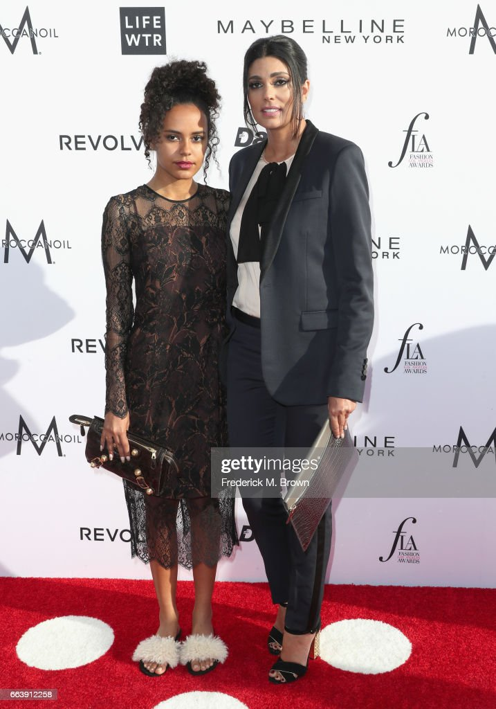 Ava Dash and Fashion designer Rachel Roy attend the Daily Front Row's 3rd Annual Fashion Los Angeles Awards at Sunset Tower Hotel on April 2, 2017 in West Hollywood, California.
