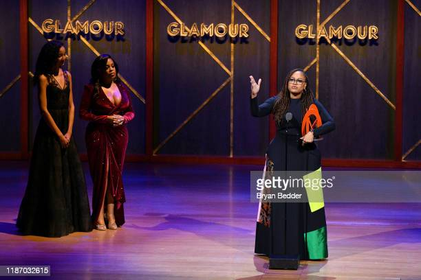 Ava DuVernay accepts an award onstage at the 2019 Glamour Women Of The Year Awards at Alice Tully Hall on November 11, 2019 in New York City.