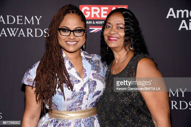 Ava DuVernay and mother Darlene Maye attend the 2017 AMD British Academy Britannia Awards Presented by American Airlines And Jaguar Land Rover at The...