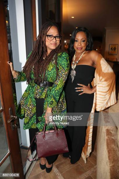 Ava DuVernay and Niecy Nash attend a Dinner Hosted By Russell Simmons And His Rush Philanthropic Arts Foundation In Honor Of LinManuel Miranda at...