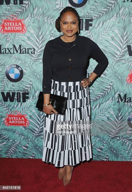 Ava DuVernay arrives at the 10th Annual Women In Film Pre-Oscar Cocktail Party at Nightingale Plaza on February 24, 2017 in Los Angeles, California.