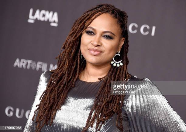 Ava DuVernay arrives at the 2019 LACMA Art Film Gala Presented By Gucci at LACMA on November 2 2019 in Los Angeles California