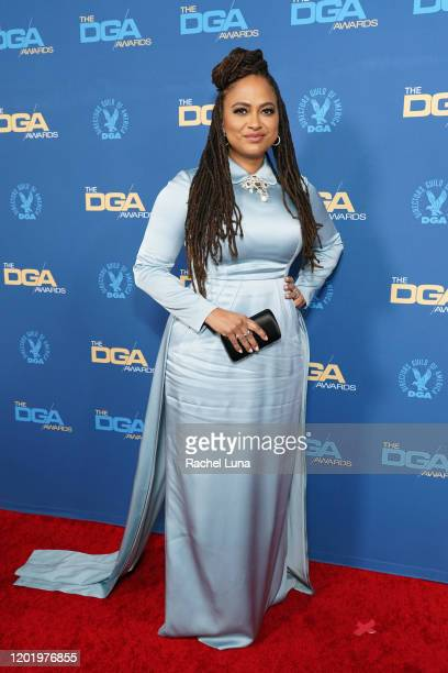 Ava DuVernay arrives for the 72nd Annual Directors Guild Of America Awards at The Ritz Carlton on January 25 2020 in Los Angeles California
