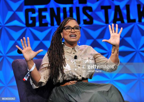 Ava DuVernay at day one of Genius Talks sponsored by ATT during the 2017 BET Experience at Los Angeles Convention Center on June 24 2017 in Los...