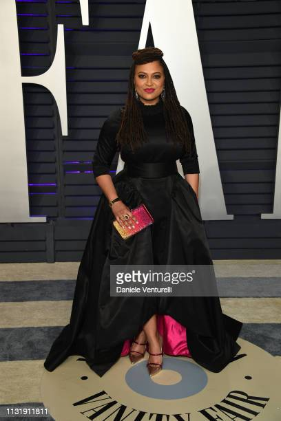 Ava DuVernay attends 2019 Vanity Fair Oscar Party Hosted By Radhika Jones at Wallis Annenberg Center for the Performing Arts on February 24 2019 in...