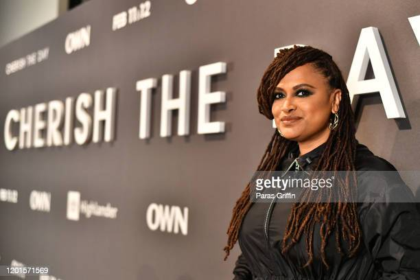 Ava DuVernay attends OWN Network's Cherish The Day Atlanta Launch Party at The Stave Room on January 23 2020 in Atlanta Georgia