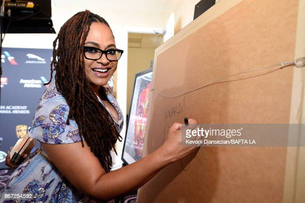 Ava DuVernay attends the 2017 AMD British Academy Britannia Awards Presented by American Airlines And Jaguar Land Rover at The Beverly Hilton Hotel...