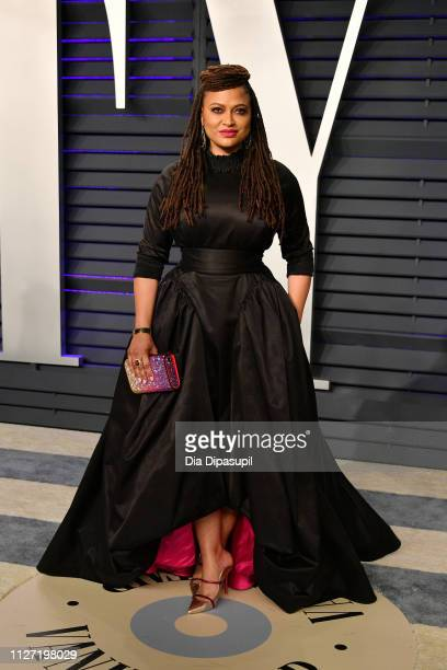 Ava DuVernay attends the 2019 Vanity Fair Oscar Party hosted by Radhika Jones at Wallis Annenberg Center for the Performing Arts on February 24 2019...