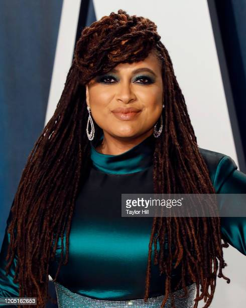 Ava DuVernay attends the 2020 Vanity Fair Oscar Party at Wallis Annenberg Center for the Performing Arts on February 09 2020 in Beverly Hills...