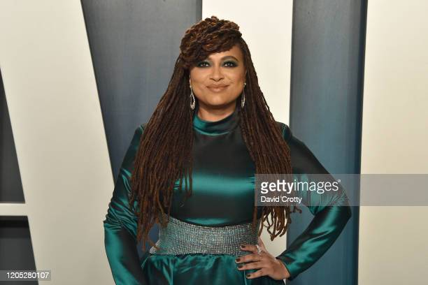 Ava DuVernay attends the 2020 Vanity Fair Oscar Party at Wallis Annenberg Center for the Performing Arts on February 09, 2020 in Beverly Hills,...