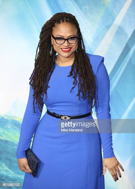 Ava Duvernay attends the European Premiere of 'A Wrinkle In Time' at BFI IMAX on March 13 2018 in London England