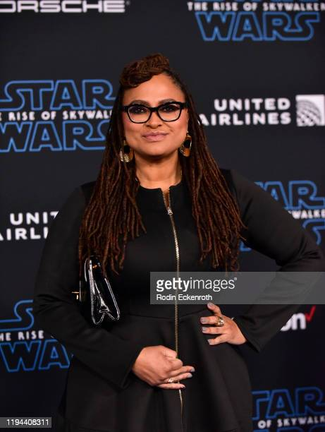 Ava DuVernay attends the Premiere of Disney's Star Wars The Rise Of Skywalker on December 16 2019 in Hollywood California