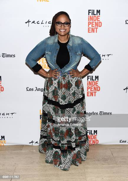 Ava DuVernay attends the screening of 'Queen Sugar' during 2017 Los Angeles Film Festival at LACMA on June 19 2017 in Los Angeles California