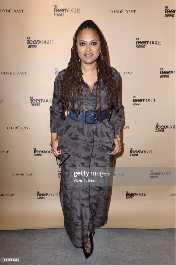 Ava DuVernay attends The Teen Vogue Summit