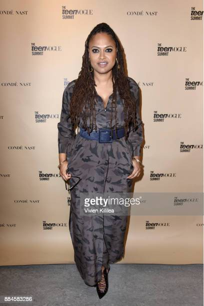 Ava DuVernay attends The Teen Vogue Summit LA Keynote Conversation with A Wrinkle In Time director Ava Duvernay and actresses Rowan Blanchard and...