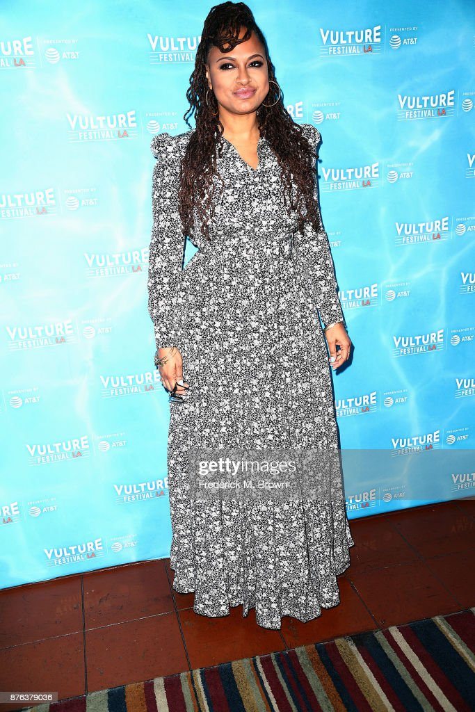 Ava DuVernay attends the Vulture Festival Los Angeles at the Hollywood Roosevelt Hotel on November 19, 2017 in Hollywood, California.