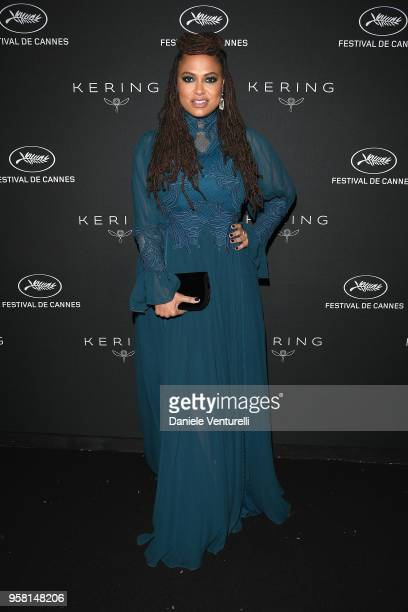 Ava DuVernay attends the Women in Motion Awards Dinner presented by Kering and the 71th Cannes Film Festival at Place de la Castre on May 13 2018 in...