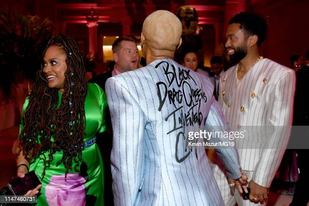 Ava DuVernay, Lena Waithe and Kerby Jean-Raymond attend The 2019 Met Gala Celebrating Camp: Notes on Fashion at Metropolitan Museum of Art on May 06,...