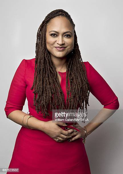 Ava DuVernay poses for a portraits at the BAFTA Tea Party at Four Seasons Hotel Los Angeles at Beverly Hills on January 7 2017 in Los Angeles...