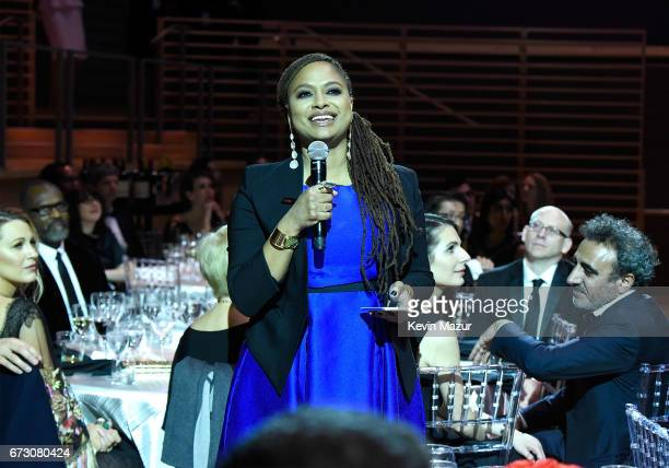 Ava DuVernay speaks during 2017 Time 100 Gala at Jazz at Lincoln Center on April 25 2017 in New York City