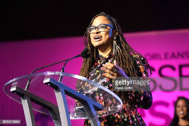 Ava DuVernay speaks onstage at the 2017 ESSENCE Festival presented by CocaCola at Ernest N Morial Convention Center on July 1 2017 in New Orleans...