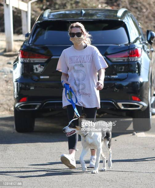 Ava Elizabeth Phillippe is seen on March 19, 2021 in Los Angeles, California.