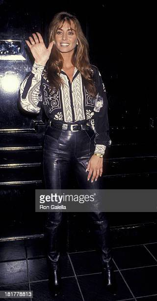 Ava Fabian attends the opening of Ava's Nightclub on January 28 1993 in Beverly Hills California