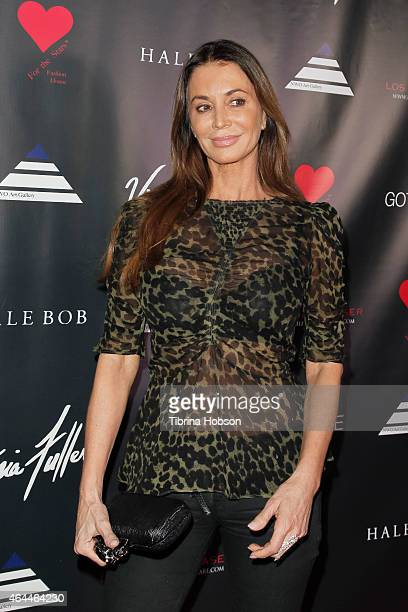 Ava Fabian attends Victoria Fuller's 'The Beauty Code' art show at The Redbury Hotel on February 25, 2015 in Hollywood, California.
