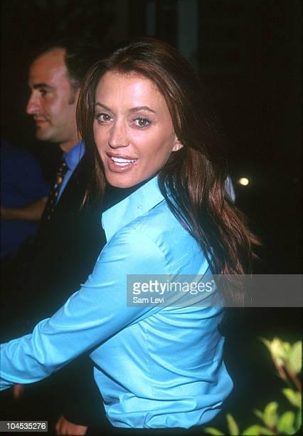 Ava Fabian during Globe Party for Charlene Tilton at Chasen's Restaurant in Beverly Hills California United States