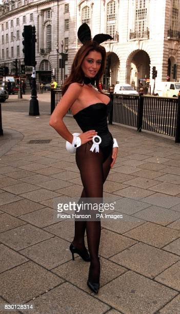 Ava Fabian hopped into action at London s Cafe de Paris to launch the search for a new generation of Playboy bunny girls. The organisation wants 40...