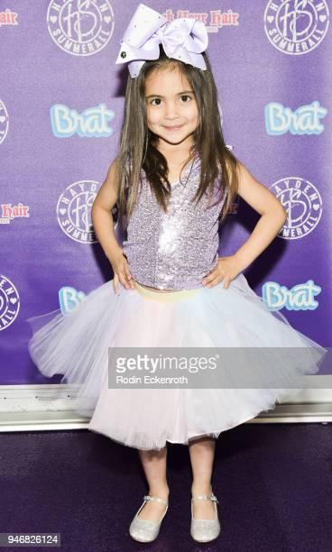 Ava Foley attends Hayden Summerall's 13th Birthday Bash at Bardot on April 15 2018 in Hollywood California