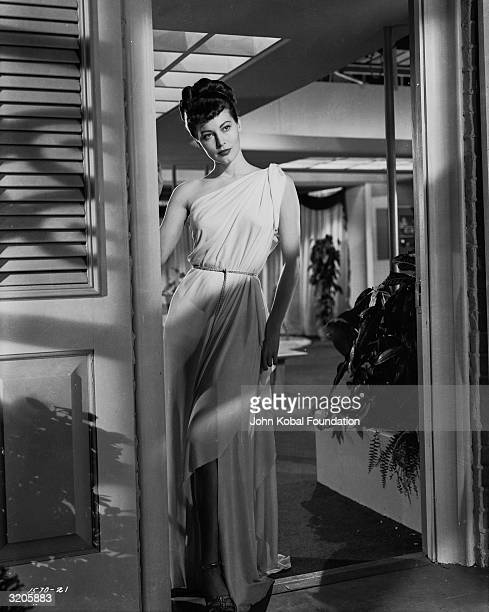 Ava Gardner playing Venus the Goddess of Love in the musical comedy 'One Touch of Venus'