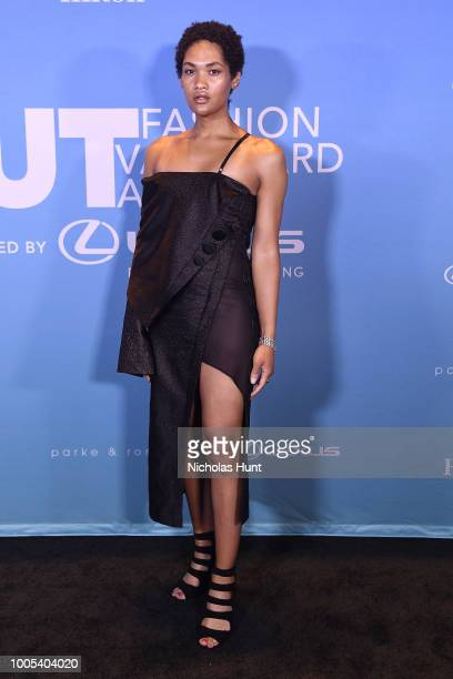 Ava Grey attends the 2018 OUT Fashion Vanguard Awards at SIR Stage 37 on July 25 2018 in New York City