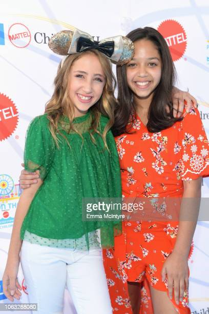 Ava Kolker and Ruth Righi attend the UCLA Mattel Children's Hospital's 19th Annual Party on the Pier at Santa Monica Pier on November 18 2018 in...