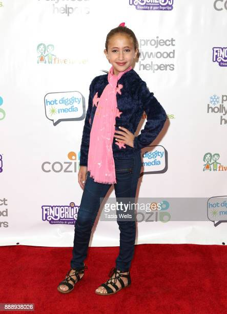 Ava Kolker at Project Hollywood Helpers at Skirball Cultural Center on December 9 2017 in Los Angeles California