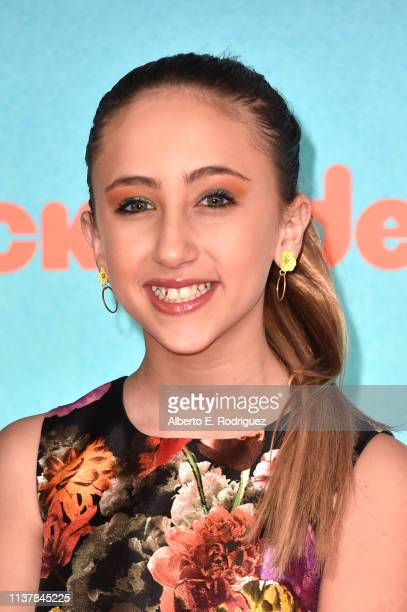 Ava Kolker attends Nickelodeon's 2019 Kids' Choice Awards at Galen Center on March 23 2019 in Los Angeles California