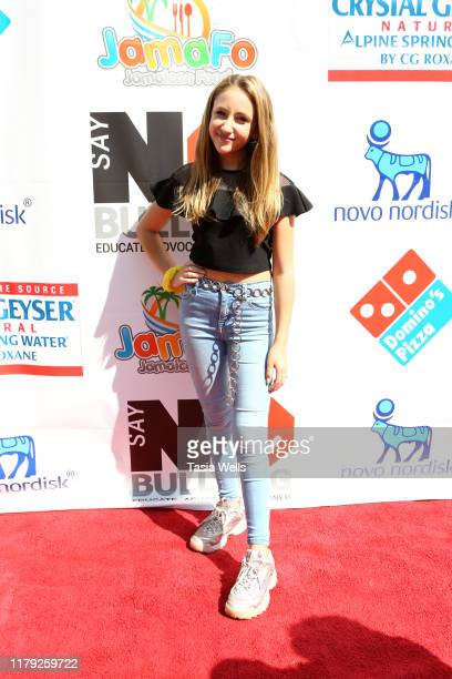 Ava Kolker attends the 4th Annual Say NO Bullying Festival at Griffith Park on October 05 2019 in Los Angeles California