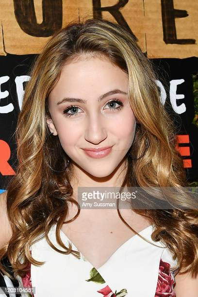 Ava Kolker attends the premiere of Disney's Timmy Failure Mistakes Were Made at El Capitan Theatre on January 30 2020 in Los Angeles California