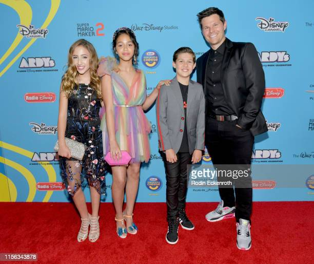 Ava Kolker Ruth Righi Ian Reed and Jackson Dollinger attends the 2019 Radio Disney Music Awards at CBS Studios Radford on June 16 2019 in Studio City...