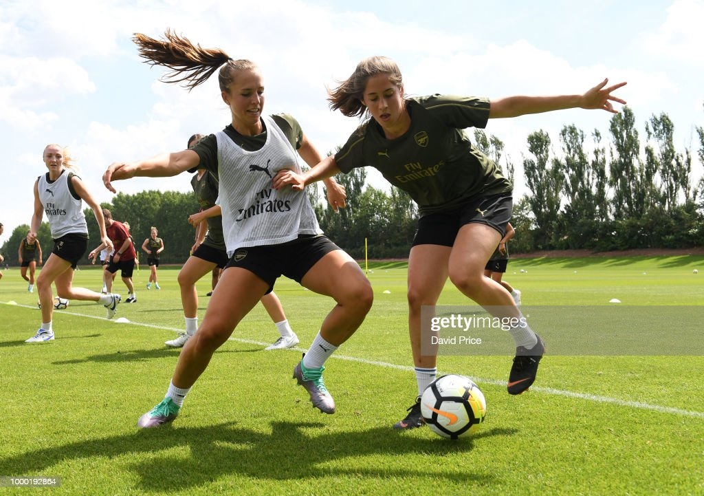 Arsenal Women Training Session