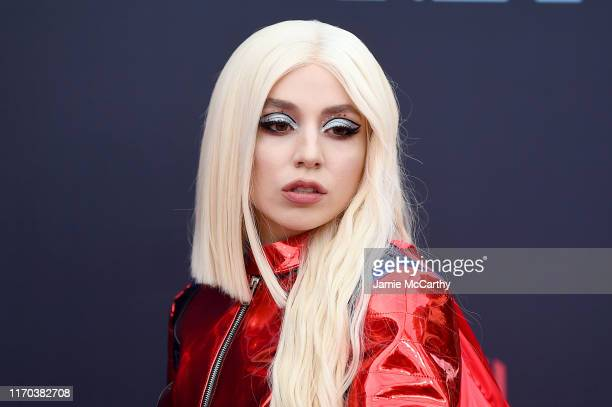 Ava Max attends the 2019 MTV Video Music Awards at Prudential Center on August 26, 2019 in Newark, New Jersey.